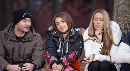 Виктория Берникова, Андрей Черкасов и Алена Ашмарина