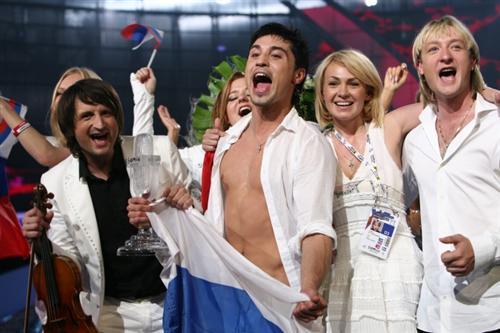 Победа Димы Билана на Евровидении-2008