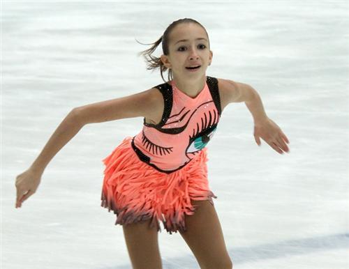 Маша Ставицкая на льду