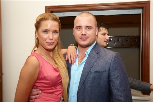 Оксана Ряска с братом Иваном