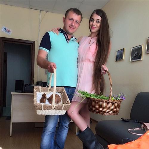 Ольга Рапунцель и Илья Яббаров