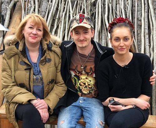 Кристина Дерябина с Владом Кадони