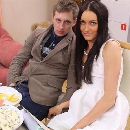 Кристина Дерябина и Женя Руднев