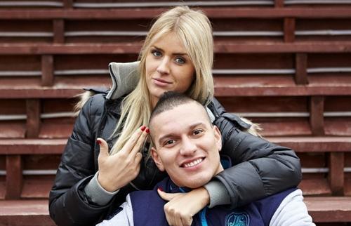 Кристина Лясковец с Габриэлем