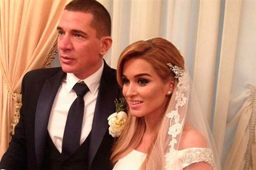 Фото со свадьбы Ксении Бородиной с Курбаном Омаровым