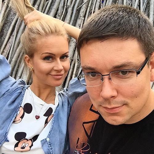 Марина Африкантова с Андреем Чуевым