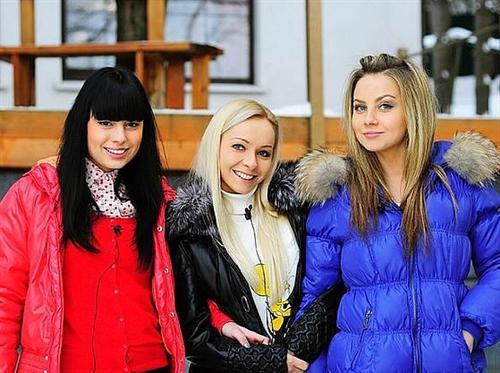 Нелли Ермолаева, Наташа Варвина и Катя Крутилина