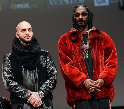 """Timati и Snoop Dogg на премьере фильма """"Одноклассники.ru: наCLICKай удачу"""""""