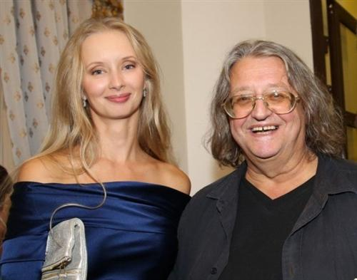 Александр Градский с женой Мариной Коташенко