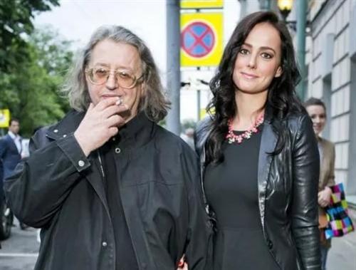 Александр Градский с дочкой Марией