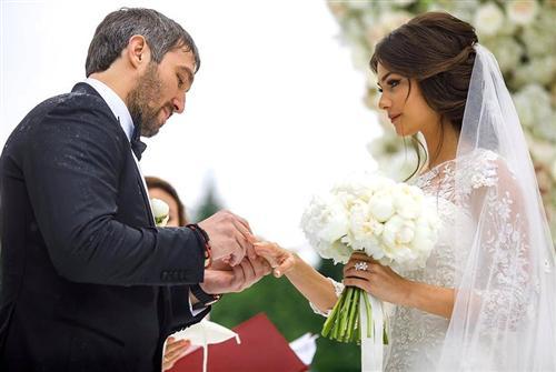 Александр Овечкин и Анастасия Шубская (свадьба)
