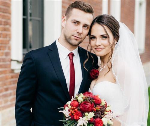 Анастасия Брызгалова и Александр Крушельницкий (фото свадьбы)
