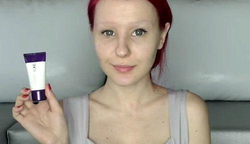 Настя Шпагина без макияжа