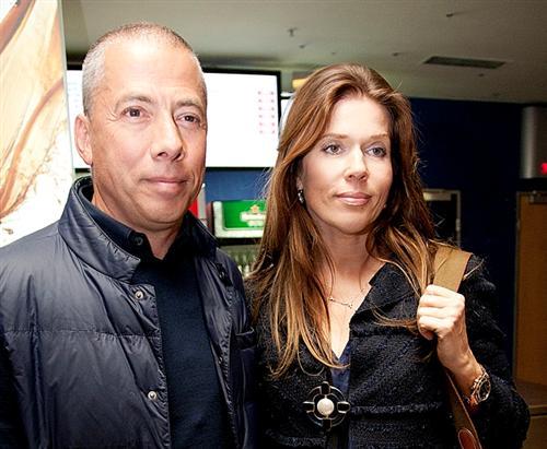 Аркадий Новиков и его жена Надежда Адвокатова