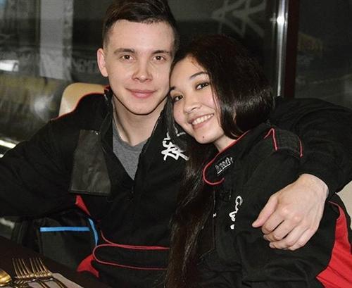 Артем Пиндюра и Шахсана Аткамова