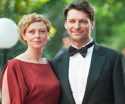 Даниил Страхов и его жена Мария Леонова