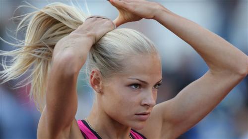 Дарья Клишина самая красивая спортсменка