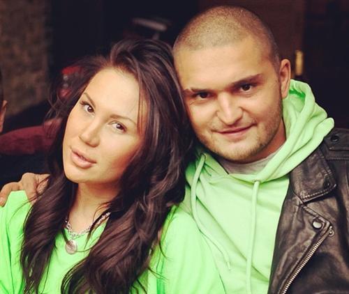 Дино МС 47 с женой Мишаней Мишиной