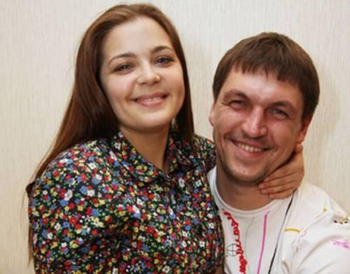 Актер Дмитрий Орлов и Ирина Пегова