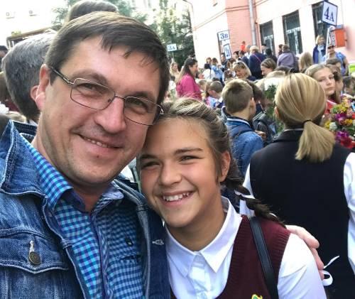 Актер Дмитрий Орлов и его дочь Татьяна