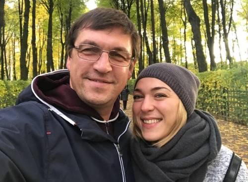 Дмитрий Орлов и его новая девушка косметолог Наталья Бражник