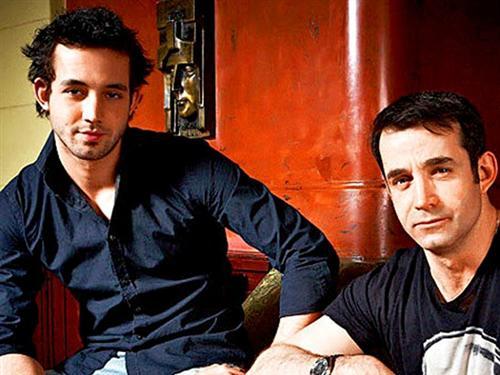Дмитрий Певцов и его сын Даниил