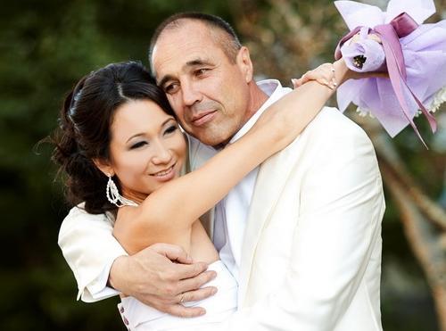 Дмитрий Соколов и его жена Ксения Ли