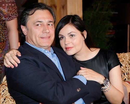 Екатерина Андреева и её муж Душан Петрович