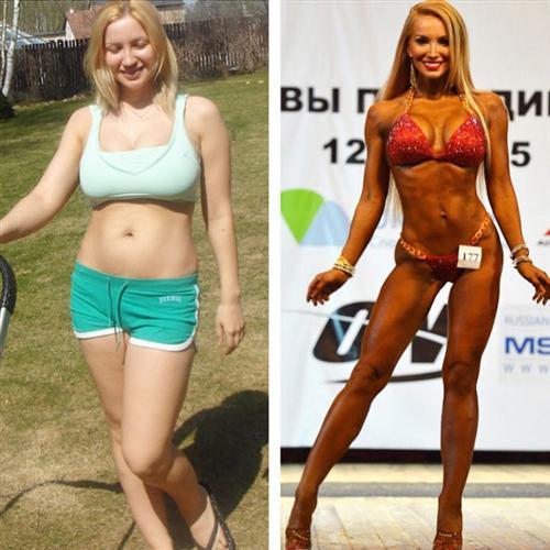 Екатерина Красавина фото до и после