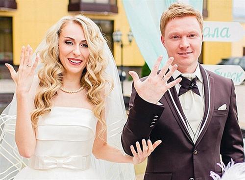 Екатерина Утмелидзе и её муж Леонид Моргунов