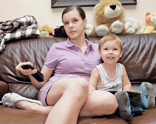 Катерина Шпица и её сын Герман