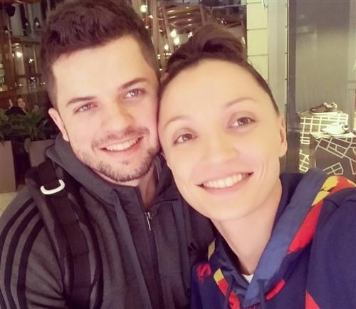 Лена Платонова и Михаил Богуш