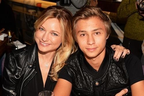 Инна Маликова с сыном Дмитрием