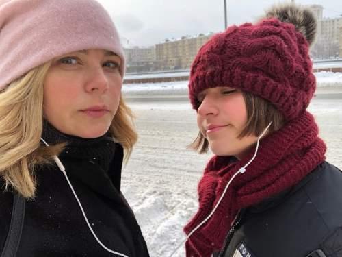 Ирина Пегова с дочкой Татьяной