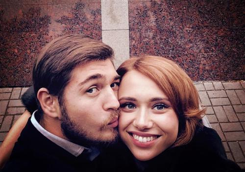 Режиссер Иван Гамаюн и его жена Мария Гамаюн