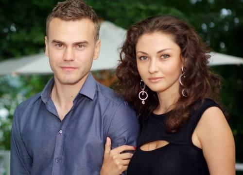 Катерина Герун и Игорь Акинфеев