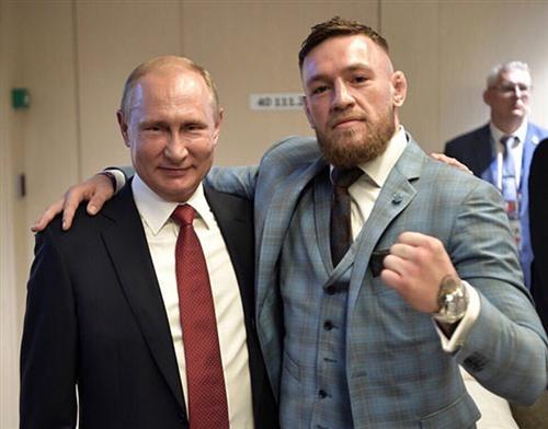 Конор Макгрегор и Владимир Путин
