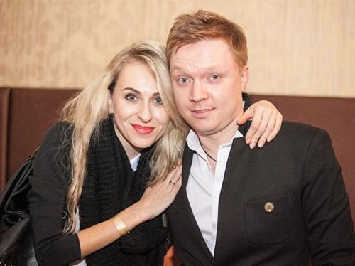 Леонид Моргунов и его жена Екатерина Утмелидзе