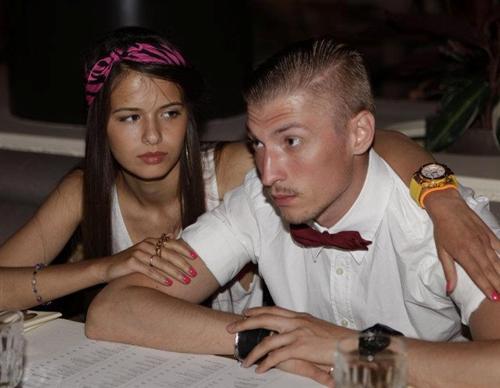 Любовь Аксенова и её муж Павел