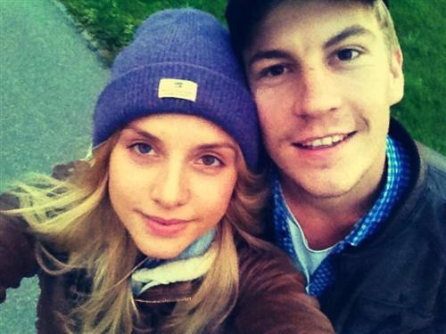 Любовь Баханкова и её муж Никита Тезин