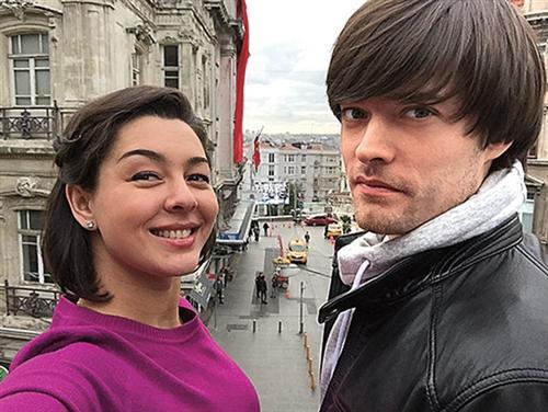 Марина Кравец и её муж Аркадий Водахов