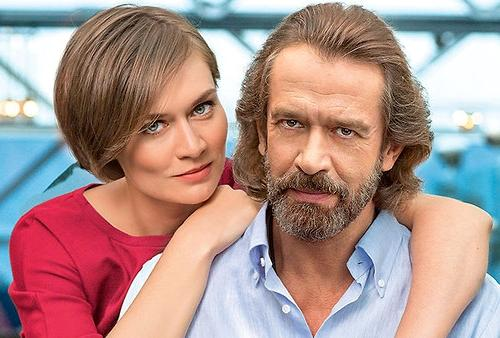 Мария Машкова и Владимир Машков