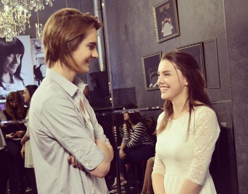 Тиесто и его девушка