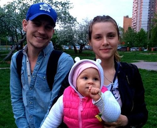 Никита Тезин и его жена Любовь Баханкова