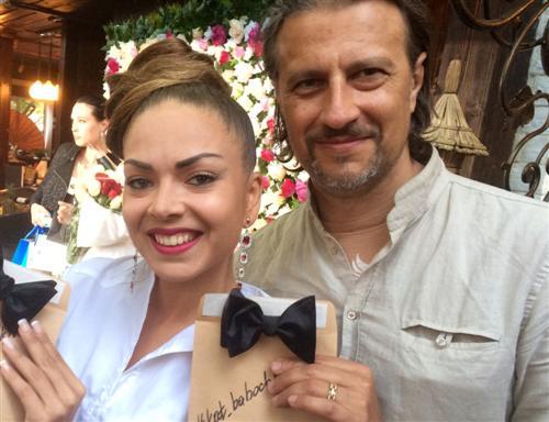 Певица Оксана Казакова и её муж Алексей Филиппов