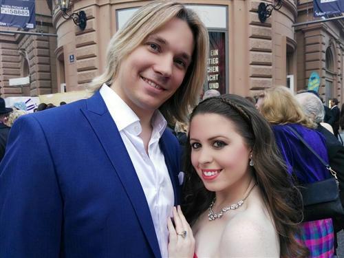 Олег Лоза и его жена