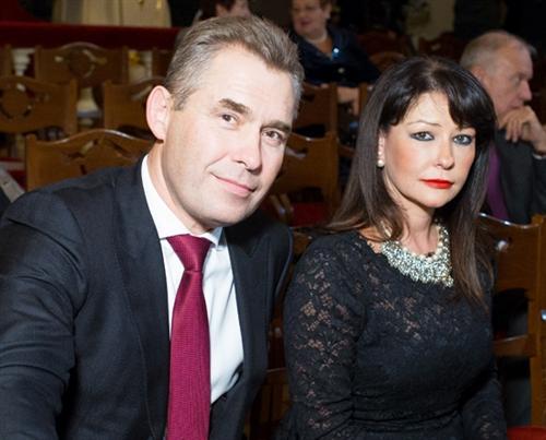 Павел Астахов и его жена Светлана