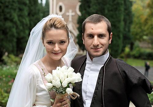 Резо Гигинеишвили и его жена Надя Михалкова