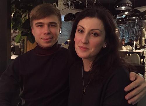 Семён Елистратов и его жена Юлия