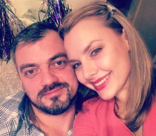 Вера Баханкова и её муж Тарас Епифанцев